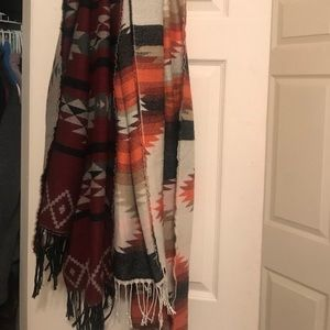 Two Native Scarves